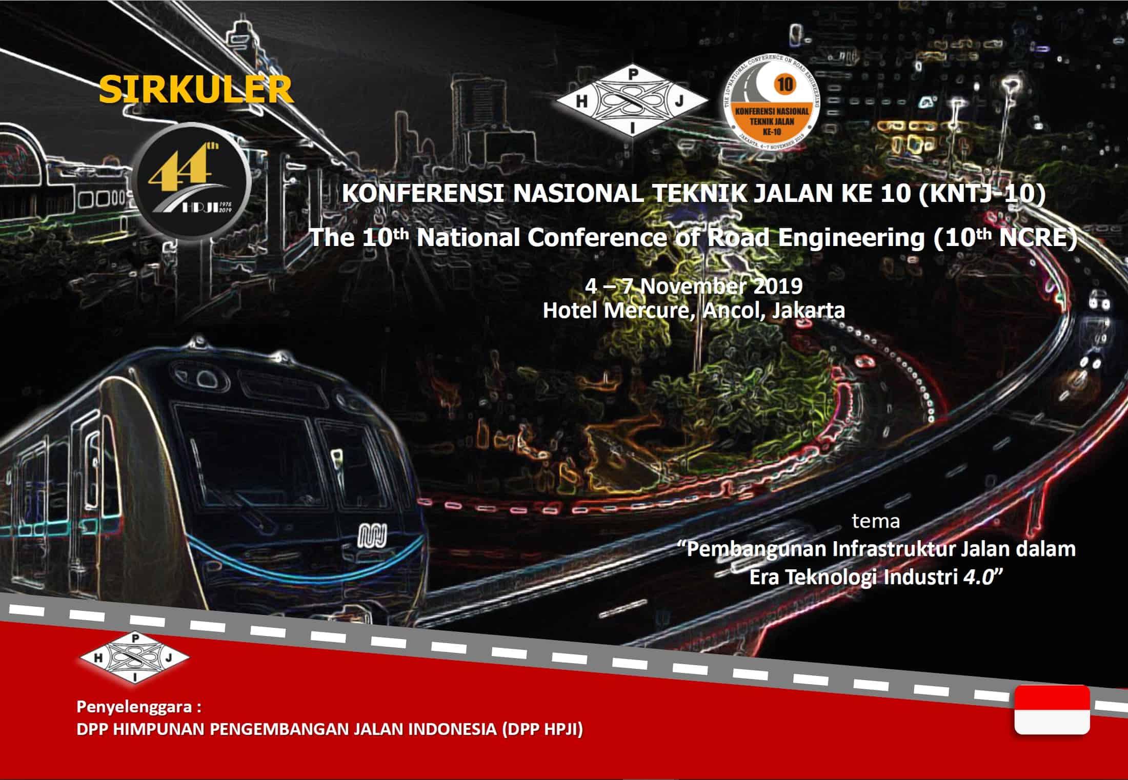 Konferensi Nasional Teknik Jalan ke-10 (KNTJ 10)